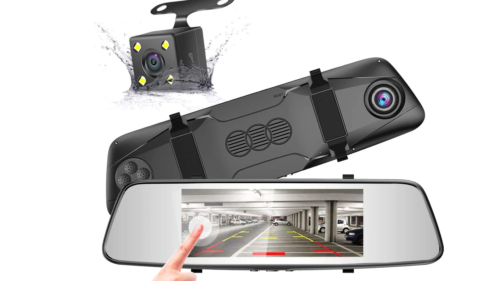Pruveeo D700 Touch Screen Backup Camera